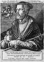 Aldegrever, Heinrich: Das Bildnis Jan van Leidens