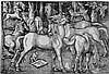 Baldung, Hans: Die sieben Pferde