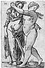 Beham, Hans Sebald: Judith mit dem Haupt des Holofernes