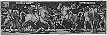 Beham, Hans Sebald: Achilles und Hektor; Griechen und Trojaner