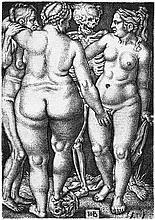Beham, Hans Sebald: Der Tod und die drei nackten Frauen