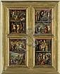 Deutsch, um 1540: Szenen aus dem Leben Christi