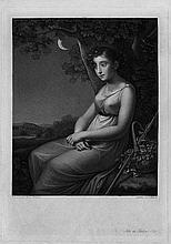 Gottschick, Johann Christian Benjamin: Ida im Mondschein