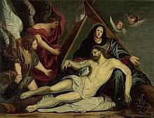 Flämisch: 17. Jh. Die Beweinung Christi