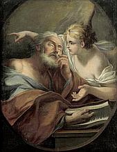 Deutsch: um 1780. Joseph und der Engel