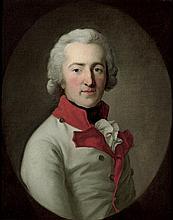 Bildnis Karl Johann Friedrich Reichsgraf von Medem, Brustbild im Oval