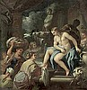 Giordano, Luca - Werkstatt: Bathseba im Bade