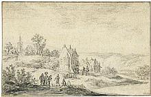 Goyen, Jan van: Flußlandschaft bei Doorwerth