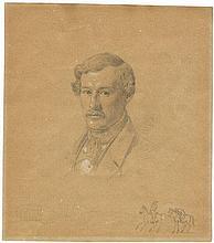 Hansen, Constantin: Porträt des Arztes Theodor Collin (1815-1902).