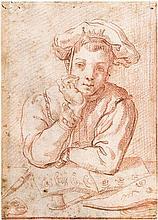 Carracci, Annibale - Umkreis: Bildnis eines jungen Zeichners