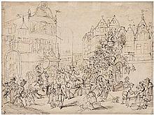 Flämisch: um 1630. Mortales volunt: decipi