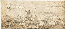 Courtois, Jacques: Reiterschlachtszene