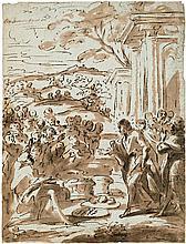 Italienisch: 17. Jh. . Die wundersame Brotvermehrung