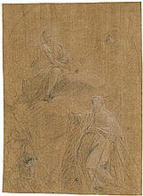 Italienisch: 17. Jh. Apotheose eines Heiligen