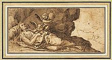 Italienisch: um 1700. Der Tod der hl. Maria Magdalena
