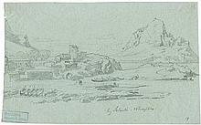 Papperitz, Gustav Friedrich: Landschaft bei Salento