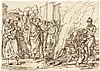 Rhomberg, Joseph Anton: Szene mit einem Brandopfer