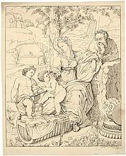Merz, Johann Baptist: Die Hl. Familie mit dem Johannesknaben