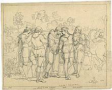 Riepenhausen, Johannes: Der Abschied Raffaels von Florenz