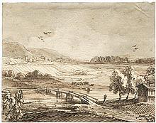Dillis, Johann Georg von: Isarlandschaft mit weidendem Vieh