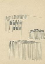 Poelzig, Hans: Großes Schauspielhaus Berlin, vertikal gegliederte Fassade