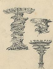 Poelzig, Hans: Säulen, Kandelaber und Leuchten