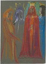 Poelzig, Hans: Hamlet, Figurinen