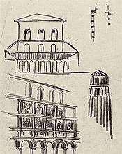 Poelzig, Hans: Franziskanerkloster Glatz, Loggiaarchitektur