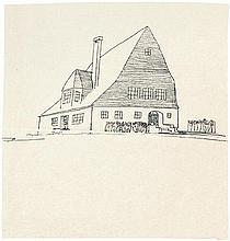Poelzig, Hans: Holzhaus Kunstgewerbeausstellung Breslau