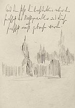 Poelzig, Hans: Architektursilhouetten