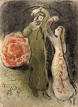 Chagall, Marc: Rencontre de Ruth et de Booz