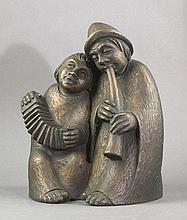 Bentele, Fideles: Musizierendes Paar