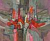 Bott, Francis: Struktur in Rot