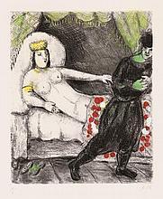 Chagall, Marc: La Femme de Potiphar