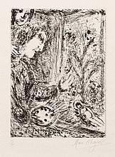 Chagall, Marc: Autoportrait à la palette