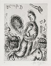Chagall, Marc: Le Couple sur le cheval