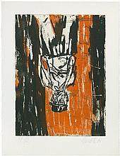 Baselitz, Georg: Der Orangenessermaler