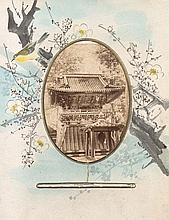 China: Souvenir album of Japanese temples