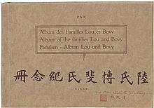 China: Album of the families Lou and Bovy