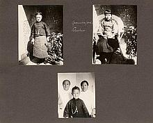 China: Private souvenir album of German hopsital in Tsingtau (Qingdao)