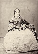 Miller, Milton M.: Portraits of the same Chinese woman in traditional dress and French costume