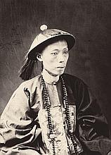 Miller, Milton M.: Mandarin in full court dress
