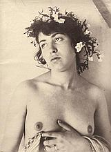 Plüschow, Guglielmo: Young female semi-nude