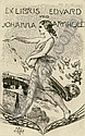 Klinger, Max: Exlibris Eduard und Johanna Arnhold. 1906