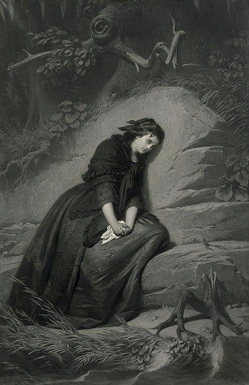 Piloty, Carl Theodor von: Illustration zu Friedrich Schillers Gedicht