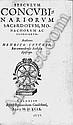 Cuyck, Hendrik van: Speculum concubinariorum sacerdotum. Köln 1599
