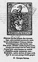Buchholzer, Georg: Constitution und Artickel. Frankfurt 1563