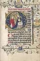 Horae Beatae Mariae Virginis: Niederländisches Stundenbuch. Delft? um 1435