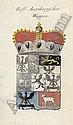 Wappen- Calender auf das Jahr 1737: Nürnberg, Bieling für Weigels Wittwe, 1736