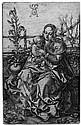 Aldegrever, Heinrich: Die Jungfrau mit dem Kind auf der Rasenbank